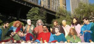 Striking recreation of Da Vinci's Last Supper dazzles Sydneysiders