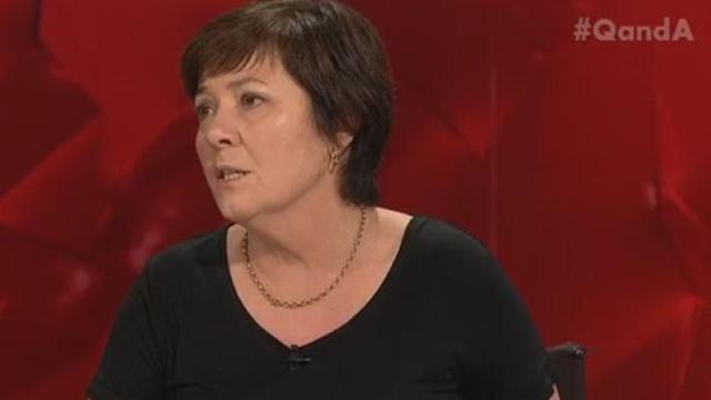 Julie McCrossin QandA (photo by ABC TV)
