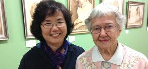 Artist Doris Golder recognised in Queen's Birthday honours