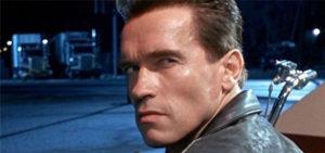 Trump takes on The Terminator – in prayer