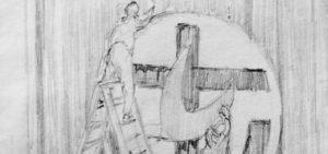 Illustrations vividly capture union