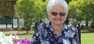 Gladys is 100 years young and full of life