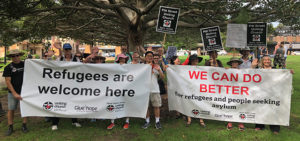 Advocate for people seeking asylum by meeting with MPs