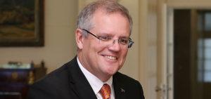 Scott Morrison Prime Minister Designate