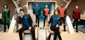 To boldly go into… comedy