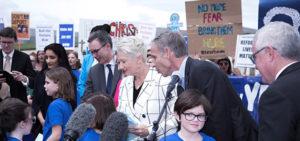 Kids Off Nauru Petition Presented to Parliament