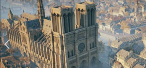 Ubisoft virtually save Notre Dame