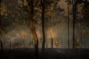 Faith amidst the fire