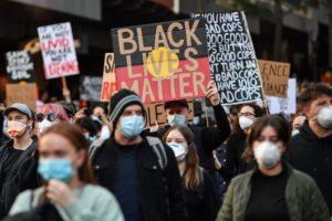 Black Lives Matter protests draw thousands