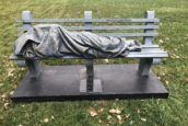 Police called on sleeping Jesus statue