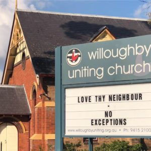 How is God at work in Willoughby and Northbridge?