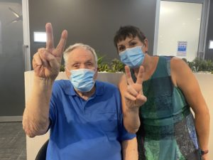 Wesley Taylor Narabeen resident second to receive COVID vaccine
