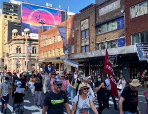 Palm Sunday Peace March returns to the streets