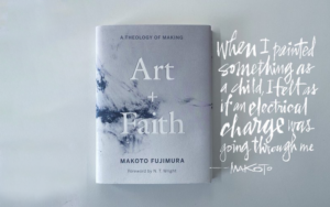 Art intersecting with faith