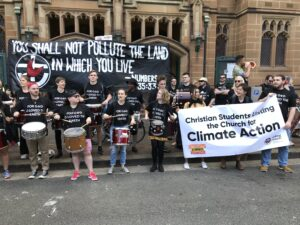 Joining the call for climate action